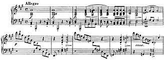 Schubert's last sonatas - Opening of the Sonata in A major