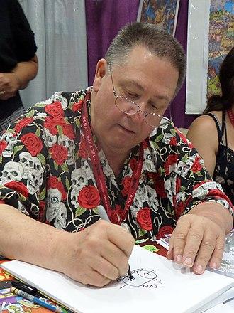 Scott Shaw (artist) - Shaw at the 2014 San Diego Comic-Con International