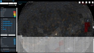 Astronomical catalog Tabulated list of similar astronomical objects