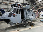 Sea King helicopter at the Fleet Air Arm Museum February 2015.jpg
