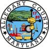 Official seal of Allegany County