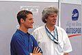 Sebastian Stahl und Manager Ingo Iserhardt, MotorLive, 2005.jpg