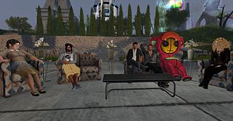 Second Life - Several avatars together