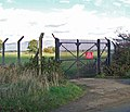 Security Gates on Normanby Cliff Road - geograph.org.uk - 2250565.jpg