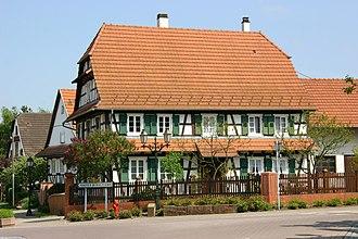 Seebach, Bas-Rhin - Image: Seebach Fachwerkhaus 16 gje