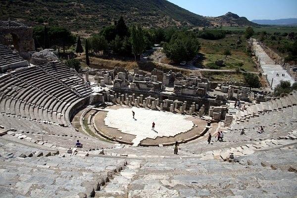 Selçuk-Antik tiyatro