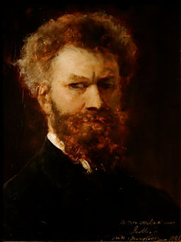Self-portrait Mihály von Munkácsy