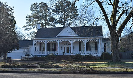 Edward C. Walthall House in Grenada, Mississippi in 2019 Sen. Edward C. Walthall House.jpg
