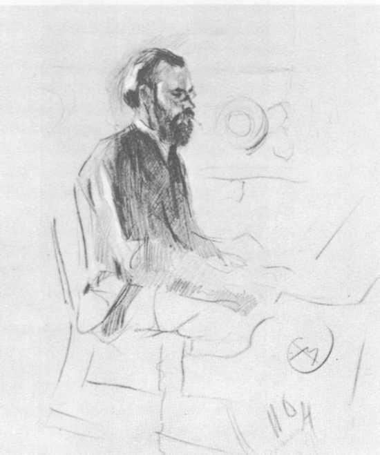 Serov-Остроухов за роялем