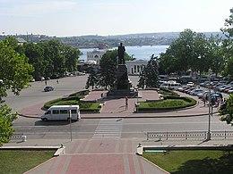 Sevastopol. Nakhimov square