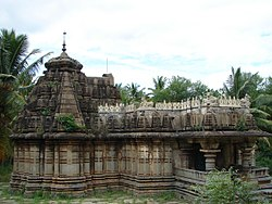 Shankareshvara temple, a Hoysala construction of 1260 AD