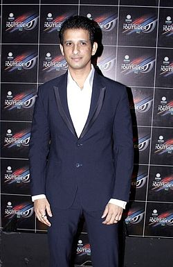 Sharman Joshi at 'The Outsider' launch party (Cropped).jpg