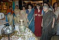 Sheila Dikshit going round after inaugurating the Sarang – Exclusive Peacock Inspired Collection, in New Delhi on July 07, 2012. The Secretary, Ministry of Textiles, Smt. Kiran Dhingra is also seen.jpg