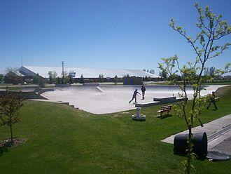 Shelley, Idaho - Image: Shelley ID High School and Bringkman Park