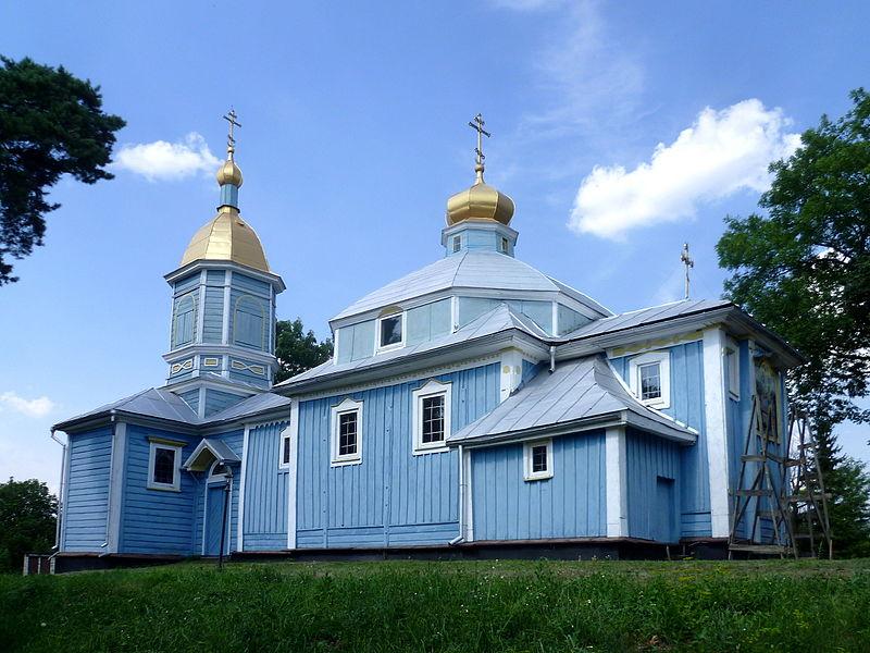 Успенська церква (1780 рік), с. Шепель, Волинська область. Автор фото — Viacheslav Galievskyi, ліцензія CC-BY-SA-4.0