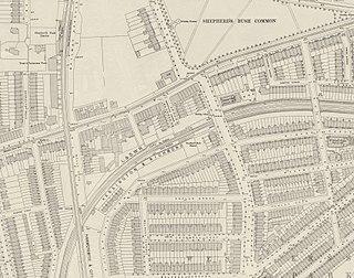 Shepherds Bush railway station (1869–1916)