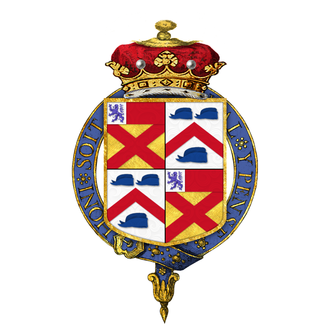 George Brudenell-Bruce, 2nd Marquess of Ailesbury - Arms of George Brudenell-Bruce, 2nd Marquess of Ailesbury