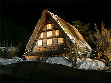 village traditionnel de Shirakawa-gô