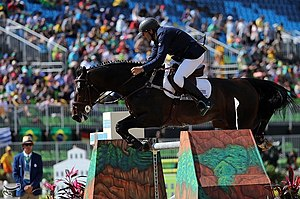 Nestor Nielsen van Hoff - Image: Show jumping at the 2016 Summer Olympics 8