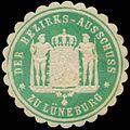 Siegelmarke Der Bezirks-Ausschuss zu Lüneburg W0386180.jpg