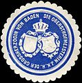 Siegelmarke Die Obersthofmeisterin Ihrer Königlichen Hoheit der Grossherzogin von Baden W0226005.jpg