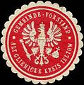 Siegelmarke Gemeinde-Vorstand Alt Glienicke - Kreis Teltow W0313752.jpg