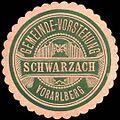 Siegelmarke Gemeinde-Vorstehung Schwarzach - Vorarlberg W0261769.jpg