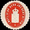Siegelmarke I. Bataillon IV. Gr. Hessisches Infanterie Regiment No. 118 W0285604.jpg