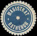 Siegelmarke Magistrat Rathenow W0392415.jpg