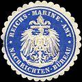 Siegelmarke Reichs - Marine - Amt - Nachrichten - Büreau W0224090.jpg