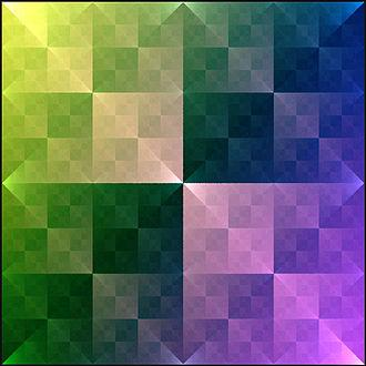 Wacław Sierpiński - Sierpinski square, a fractal