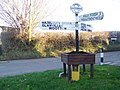 Sign, Mappowder - geograph.org.uk - 1092219.jpg