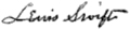 Signature of Lewis A. Swift.png