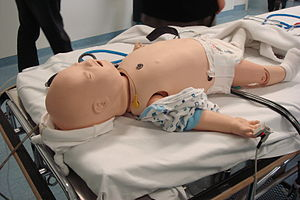 Mannequin - A baby medical simulation mannequin