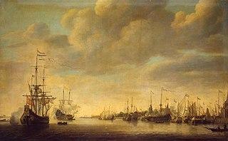 Arrival of William of Orange in Rotterdam