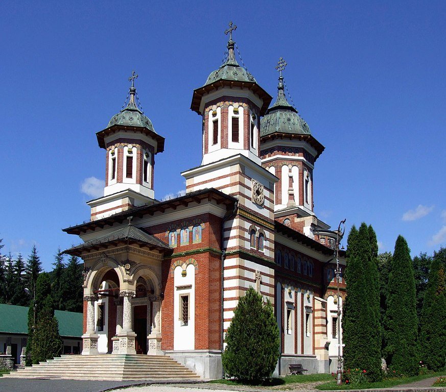File:Sinaia monastery - the Great Church ed.jpg - Wikimedia Commons