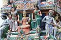 Singapore. Sri Mariamman. Gopuram. South West-4.JPG