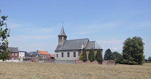 Spiere-Helkijn - Image: Sint Jan de Doperkerk Helkijn