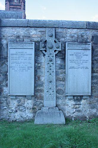 Sir Frederick Thomson, 1st Baronet - Sir Frederick Charles Thomson grave, Dean Cemetery