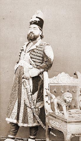 File:Sir Kalb Ali Khan, Nawab of Rampur (1832-1887).jpg ...