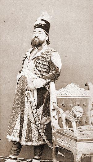 Rampur, Uttar Pradesh - Sir Kalb Ali Khan, Nawab of Rampur (1832–1887)