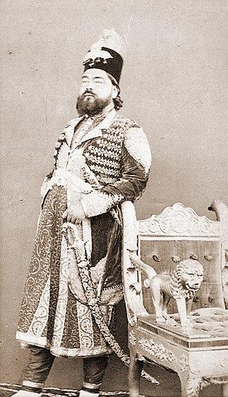 Rampur State - Sir Kalb Ali Khan, Nawab of Rampur (1832-1887)