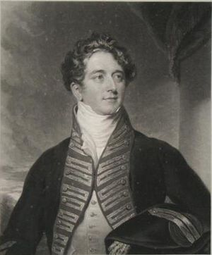 Ralph James Woodford - Engraving by Charles Turner made in 1829, after Woodford's death.