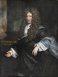 Sir Stephen Fox (1627–1716) by John James Baker.jpg