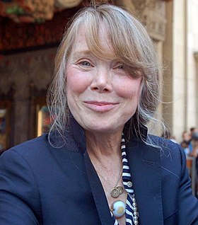 Sissy Spacek won twice for her roles in Coal Miner's Daughter (1980) and Crimes of the Heart (1986) SissySpacekHSHWOFAug2011.jpg