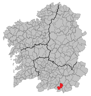 Monterrei municipality in Galicia, Spain