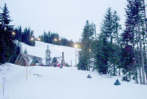 Mount Hood Skibowl - Image: Ski bowl east lodge P1422