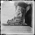 Skibindingen man brukte slik den kom til å se ut etter flere omarbeidelser, 1911 (7654806142).jpg