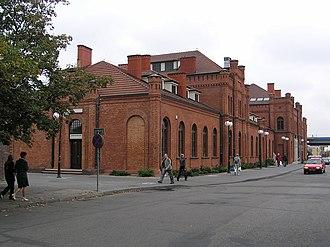 Skierniewice railway station - Image: Skierniewice Dworzec 2