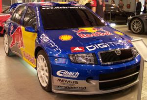 Red Bull GmbH - World Rally Championship Red Bull Car